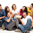 Tv friends - Stock Photo
