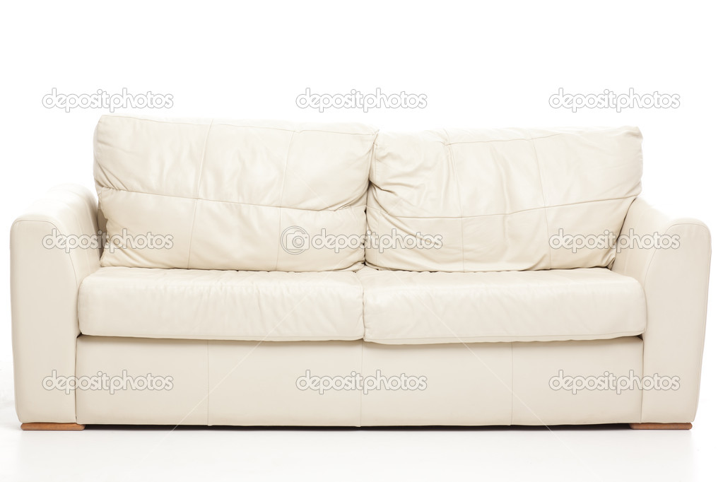 Simple studio still life shot of a modern couch — Stock Photo #5939770