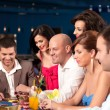 Casino players — Stock Photo