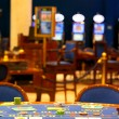 Alone blackjack table - Lizenzfreies Foto