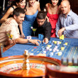 Stock Photo: Roulette betting