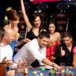 Roulette betting — Stock Photo