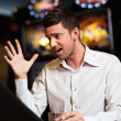 Slot machine looser — Stock Photo #6111104