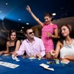 Poker players — Stock Photo