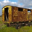 Old trailer — Stockfoto