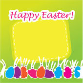 Easter-greeting-card — Stock Vector