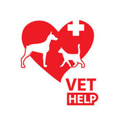 Vet-help — Stock Vector