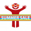 Summer-sale — Stock Vector #5775920