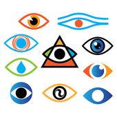 Eye-color — Stock Vector
