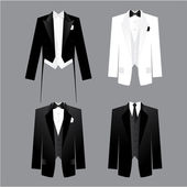 Dress code for men. — Stockvector