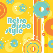 Retro-disco-style — Stock Vector