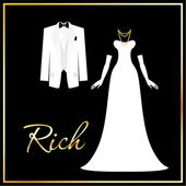 Rich — Stock Vector