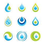 符号-水 — 图库矢量图片