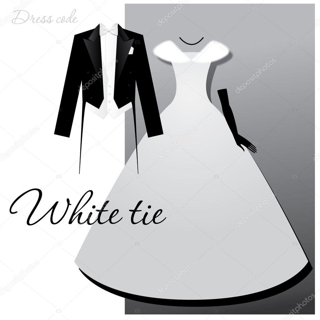 White-tie — Stock Vector © antoshkaforever #5775933