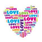Love_heart — Stock Vector