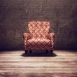 Vitage chair in an old room — Stock Photo #5791962