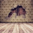 Vintage room background — Stock Photo #5792275