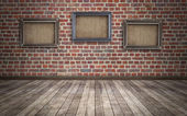 Grunge room background — Stock Photo