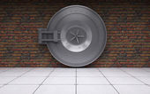Bank vault door — Stock Photo
