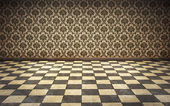 Vintage room background — Stock Photo