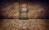 Vintage room background — Stock Photo