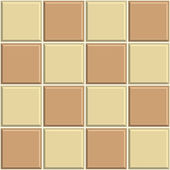 Seamless ceramic tile background — Stock Vector