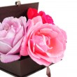 Stock Photo: Roses in Box