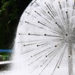 Stock Photo: Spherical Fountain in Park