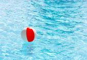 Red White Beach Ball — Stock Photo