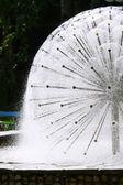 球公園の噴水 — ストック写真