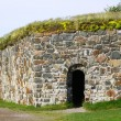 Stock Photo: Stone Wall of SuomenlinnSveaborg Fortress in Helsinki, Finland