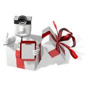 3d läkare kontrollera upp gåvor — Stockfoto