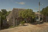 Maya house — Stock Photo