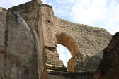 Hole in the wall, Baths of Caracalla — Stock Photo