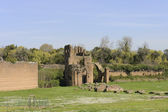 Middle ages ruins of circus — Stock Photo