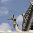 Symbolic peace angel in Rome — Stock Photo #5957875