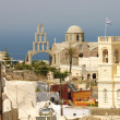 Greek Orthodox church of Fira — Stock Photo