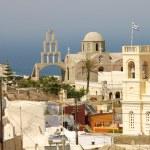Greek Orthodox church of Fira — Stock Photo #6249852