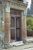 Herculaneum excavation - House of Big Portal — Stock Photo
