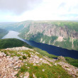 Gros Morne Summit, Newfoundland — Stock Photo