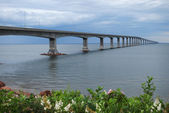 Confederation Bridge, New Brunswick — Stock Photo