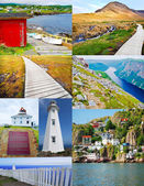 Newfoundland - Picture Collage — Stock Photo