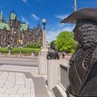 confederation square — Stock Photo