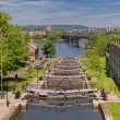 Rideau Canal Locks — Stock Photo