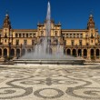 Stock Photo: Plazde Espana