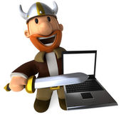Swedish viking — Stock Photo