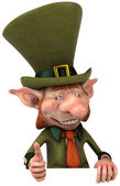 Irish leprechaun — Stock Photo