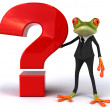 Businessman Frog - Stock Photo