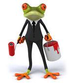 Frog Illustration — Stock Photo