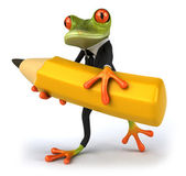 Frog business — Stock Photo